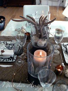 Nuit des anges décoratrice de mariage décoration de table scandinave 005