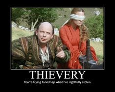 The Princess Bride. This movie is priceless.