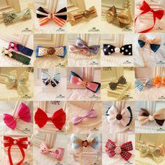 handmade korea style hair bow ribbon hair accessory wholesale  $15.00