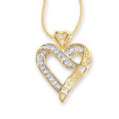 Heart Necklace / Diamond Heart in Solid Gold / Rose Gold Necklace / Layering Necklace / Diamond Necklace / Christmas Gift Diamond Necklace Set, Diamond Jewelry, Jewelry For Her, Women's Jewelry, Jewelry Photography, Diamond Heart, Gold Heart, Silver Diamonds, Silver Ring