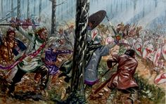 This is Valens fleeing at Adrianople!