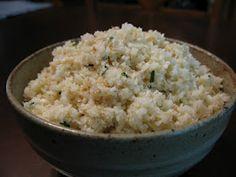 Ginger-Garlic Cauliflower Rice