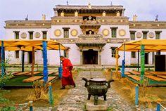 The Erdene Zuu Monastery Mongolia