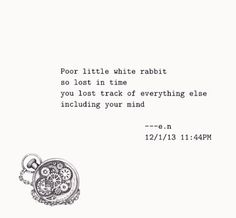 Image result for white rabbit quotes