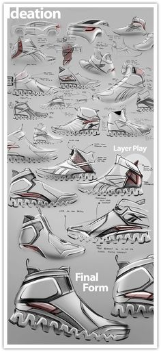 Reebok - Rally Fighter Zigtech Contest by Roshan Hakkim, via Behance