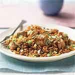 Sesame Pork Rice Recipe   MyRecipes.com