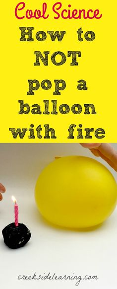 cool science experiments with fire, middle school science experiments, easy science experiments to do at home