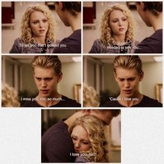 The Carrie diaries ~ like the best bit of the series aww Carrie and Sebastian