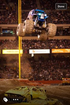 January monster jam Nashville Tennessee can't wait