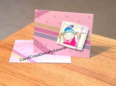 Washi Tape Fun meets Stampendous - CardCreationsbyLaura