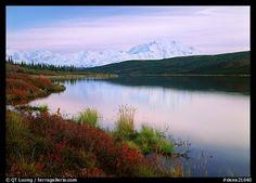 Wonder Lake in Denali National Park And Preserve
