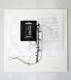 Wonder Where You Are by Maria Wigley all rights reserved #embroidery #textiles #poetry #stitch #quotation