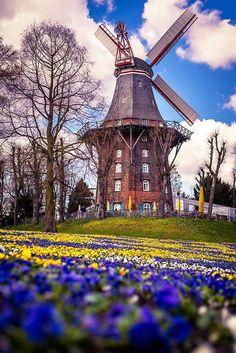 Windmill, Bremen, Germany                                                                                                                                                                                 More