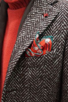 Isaia | Men's Fashion | Menswear | Men's Outfit for Fall/Winter | Layering | Shop at designerclothingfans.com