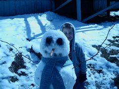 Magic Garden: Can't wait until the Magic Snow Season (how to build a snowman).
