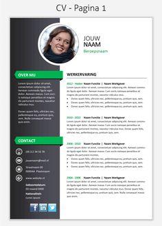 CV template 295 om te downloaden