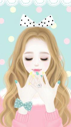 Imagen de enakei and korean enakei korean anime, cute anime wallpaper, girl Anime Korea, Korean Anime, Korean Art, Korean Style, Cartoon Girl Images, Cute Cartoon Girl, Kawaii Cute, Kawaii Girl, Lovely Girl Image