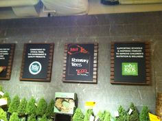 Whole Foods, clear, colorful, old style info