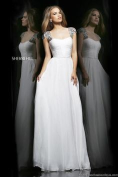 Sherri Hill Empire Waist Dress 11087