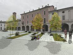 Michela Cibaldi, Federica Mometto, Anna Donati, Ignazio Marchetti — Riqualificazione piazza Veronica Gambara