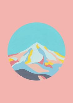 Mountainscape by The Adventure of