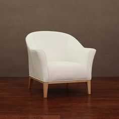 @Overstock - Add a sophisticated touch to your decor with this white leather chair. A lovely natural finish highlights this durable chair.   http://www.overstock.com/Home-Garden/Tivoli-Modern-White-Leather-Chair/6731234/product.html?CID=214117 $261.99