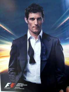 Mark Webber Ad Australian GP 2013 OMG How sexy is he!