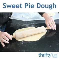 This is a guide about sweet pie dough. This sweet dough is perfect for your dessert recipes.