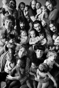Frank Zappa and The Mothers Of Invention, Photo by Art Kane, B&W edit by JoeInCT