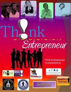thnk-entrepreneur-press-kit by RASHID Brown via Slideshare