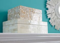 Ivory Mother-Of-Pearl Box - SHOP ETHAN ALLEN OMAHA NOW!