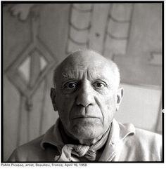 Pablo Picasso by Richard Avedon.