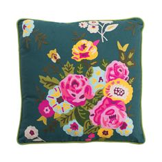 Carefree Carnations Pillow