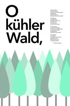 O kühler Wald by Kim Schneider