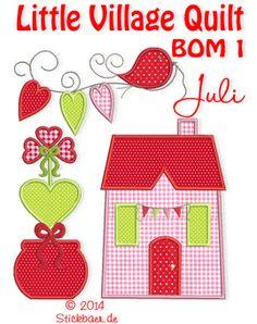 Little Village Quilt BOM 1