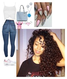 """""""Untitled #199"""" by bbysixteen on Polyvore featuring Topshop, NIKE, Kobelli and Bling Jewelry"""