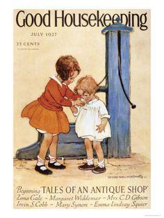 Good Housekeeping, July, 1927 Print at Art.com