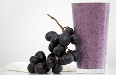 Grape-Berry Protein Smoothie