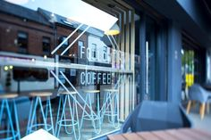 The owner of Follow Coffee approached Terry Design to create a concept that would stand out in Ballymena's coffee scene.