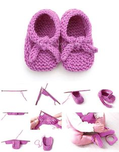 Amazing Knitting provides a directory of free knitting patterns, tips, and tricks for knitters. Baby Booties Knitting Pattern, Easy Knitting Patterns, Knitting Socks, Free Knitting, Knitting Projects, Baby Knitting, Crochet Patterns, Knit Or Crochet, Crochet Baby