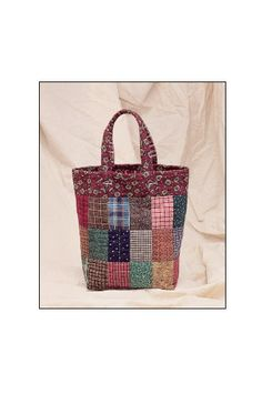Country Tote sewing pattern – IJ106 from IndygoJunction.com