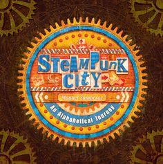 #steampunk #illustration #alphabet