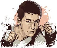 Brazilian Sports Legends: Eder Jofre - Pugilist by Cristiano Siqueira
