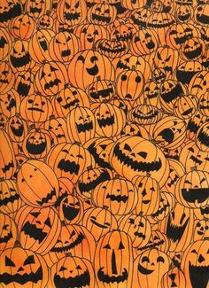 Mentally somewhere else. — midnightinparis: patterns of halloween