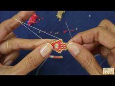 Peyote Patterns, Bracelet Patterns, Beaded Jewelry, Handmade Jewelry, Bead Crochet Rope, Peyote Stitch, Bracelet Tutorial, Brick Stitch, Beading Tutorials