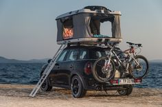 Though pictured above a Countryman ALL4, the Camp is designed to be mounted on more or les...