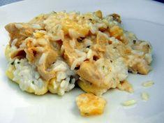Broileri-riisivuoka Cauliflower, Macaroni And Cheese, Chicken Recipes, Food And Drink, Meat, Baking, Vegetables, Ethnic Recipes, Bakken
