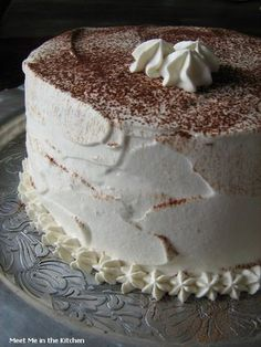 Meet Me in the Kitchen: The Cake Slice- Cappuccino or Hot Cocoa Chiffon Cake