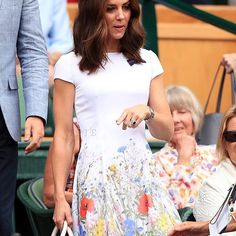 9d8d50707f90 The  DuchessofCambridge has arrived at  Wimbledon to watch the men s  finals. She is