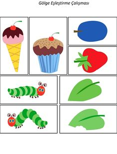 The Very Hungry Caterpillar Theme Activities - The Very Hungry Caterpillar Activities, Chenille, Decoupage, Kindergarten, Arts And Crafts, Butterfly, School, Puzzle, Education